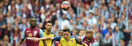 Höchster Finalsieg seit 1903: Özil brilliert bei Arsenals FA-Cup-Triumph