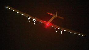 """Ohne Treibstoff um die Welt: """"Solar Impulse 2"""" hebt zur riskantesten Etappe ab"""