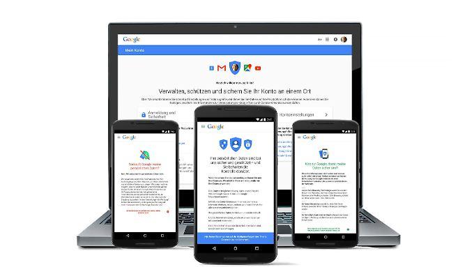 Google verbessert die Übersichtlichkeit bei Privatsphäre und Sicherheit.