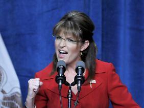 """Palin will """"die linke Politik stoppen""""."""
