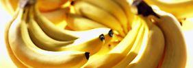 Zweifellos ein krummes Ding: die Banane.