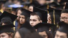 Zeugnis, Doktorhut... Schuldenberg: US-Studenten zahlen Wucherzinsen