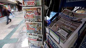 Schwindende Pressefreiheit: Kritische Medien drohen in der Türkei zu verstummen