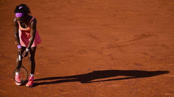 Serena Williams erntet mächtig Kritik für ihren Auftritt im Halbfinale gegen Timea Bacsinszky.