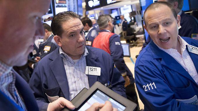 Zinsangst: US-Händler sind weit weg von Euphorie.