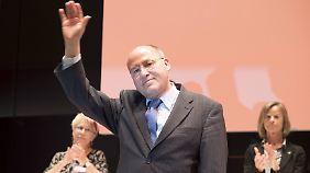 Rücktritt als Linke-Fraktionschef: Gysi verabschiedet sich mit Tränen und guten Ratschlägen