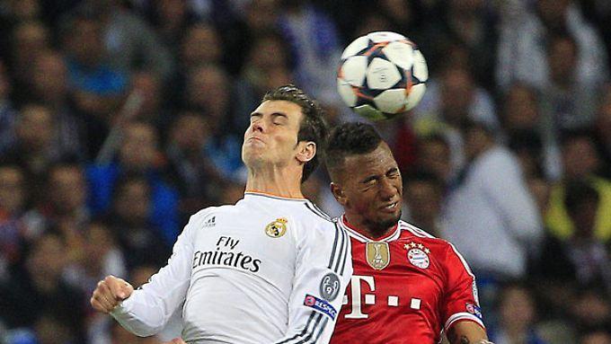 Cristiano Ronaldo und Jérôme Boateng könnten schon in der Vorrunde der Champions League aufeinander treffen.