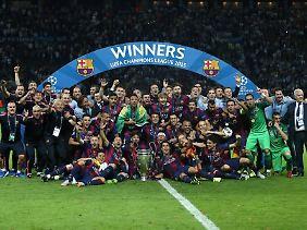 Bei einem erneuten Sieg in der Königsklasse, könnten dem FC Barcelona 15 Millionen Euro winken.