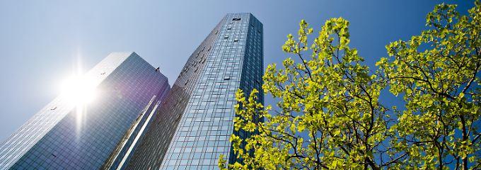 Zentrale der Deutschen Bank in Frankfurt.