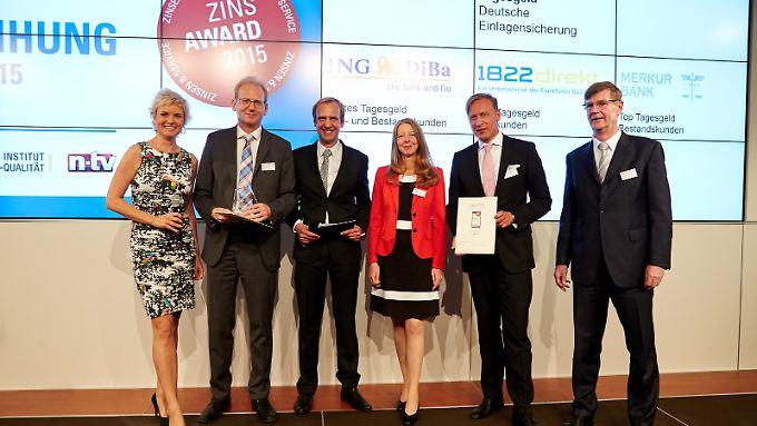 n-tv Ratgeber: ins-Award 2015 verliehen