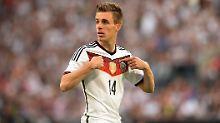 Starkes Debüt im DFB-Team: Patrick Herrmann, einer der für Stress sorgt