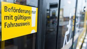 3,5 Prozent ohne gültige Fahrkarte: Schwarzfahrer zahlen ab Juli deutlich mehr