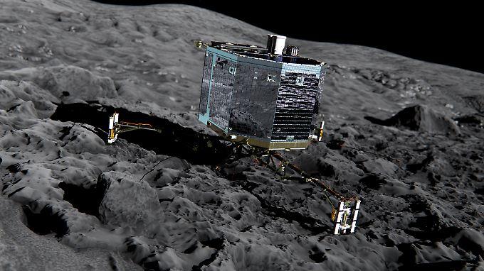"""Nach sieben Monaten Funkstille: """"Philae"""" nimmt wieder Kontakt zur Erde auf"""