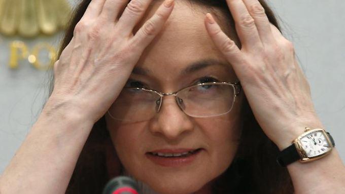 Russlands Zentralbankchefin Elvira Nabiullina fehlen fast 30 Millionen Euro.