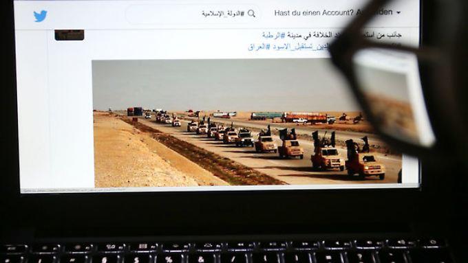 Der IS versucht Jugendliche mit Propaganda-Videos im Internet anzuziehen.