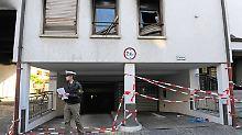 Bevor sie sich im St. Elisabethen-Krankenhaus verschanzte, tötete die Anwältin ihren Sohn und ihren Ex-Mann und zündete ihre Wohnung an.