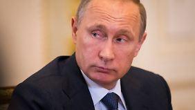 Wiedererstarkt: Wladimir Putin.