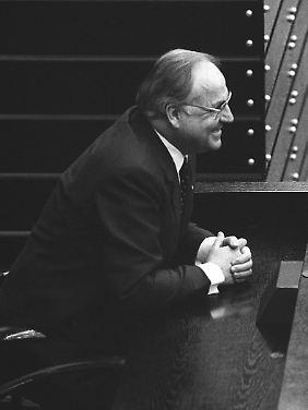 16 Jahre Bundeskanzler: Helmut Kohl.