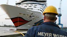 Kündigung des Betriebsrats ungültig: Meyer Werft unterliegt vor Gericht
