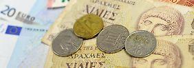 Müsste lange vorbereitet werden: die Rückkehr vom Euro zur Drachme.