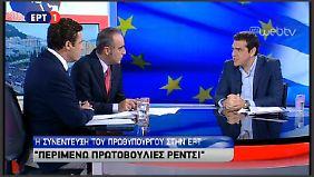 Tsipras wirft den Geldgebern vor, die Verhandlungen abgebrochen zu haben.