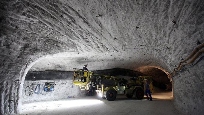 Erkundung: Der Salzstock von Gorleben ist bislang die einzige Möglichkeit für ein Endlager mit hoch radioaktiven Müll.