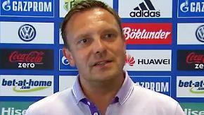 Erstes Training unter Neu-Trainer: Breitenreiter setzt bei Schalke auf offensiven Fußball