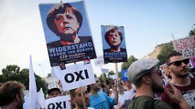 """Widerstand in der CDU wächst: Griechenlands """"Nein"""" bedeutet Debakel für Merkel"""