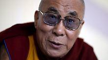 Der Dalai Lama lebt seit Jahren im Exil im nordindischen Dharamsala.