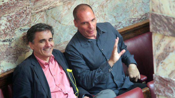 Ex-Finanzminister Varoufakis und sein Nachfolger Tsakalotos sind weniger für den Schuldenabbau verantwortlich als die Eurogruppe.
