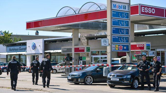 Bayerns Innenminister dankbar: Tankstellen-Mitarbeiter überwältigen Amokschützen