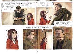 """Ausschnitt aus """"Der Goldene Kompass"""": Heldin Lyra wird von ihrem Onkel wie ein Kind behandelt - doch sie will Abenteuer erleben."""