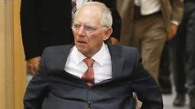 """Schäuble zu Griechenland: """"Ein Schuldenerlass ist nicht möglich"""""""