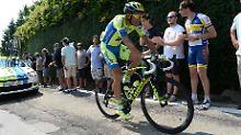 Radprofi wird sofort operiert: Diagnose Hodenkrebs: Basso gibt Tour auf