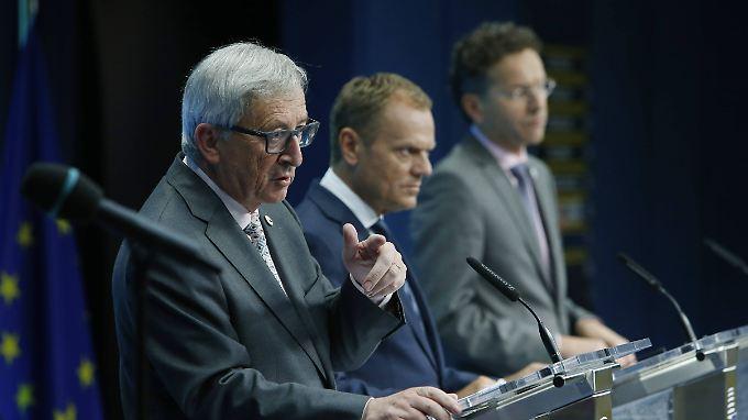 """""""Enorm viel Geduld notwendig"""": Das sieht der Rettungsplan für Griechenland vor"""