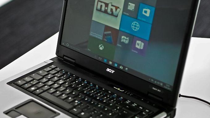 Windows 10 verhilft auch einem alten Acer-Notebook zu neuer Jugend.