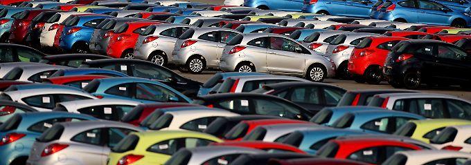 Deutlich mehr Autos verkauft.