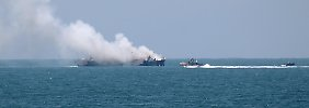 Ägyptische Marine beschossen: IS prahlt mit Raketenangriff auf Militärboot