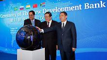 China ist größter Förderer: Schwellenländer starten Entwicklungsbank