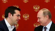 Putin lässt Bericht dementieren: Moskau gibt keine Dollars für Drachmen
