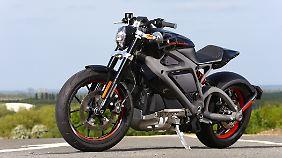 Die LiveWire ist eine Mischung aus Nakedbike und Streetfighter.