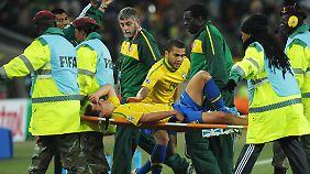 Verletzungen sind beim Fußball leider keine Seltenheit.