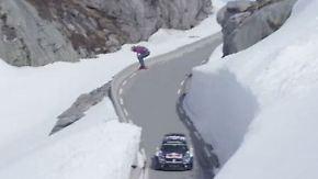 Spektakuläres Downhill-Rennen: Ski-Weltmeister tritt gegen Rallye-Star an