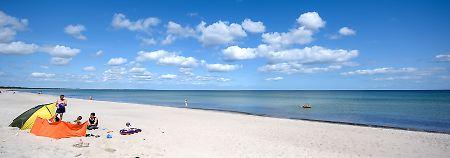 In den nächsten Tagen lohnen sich Ausflüge ins Freie, wie hier an die Ostsee.