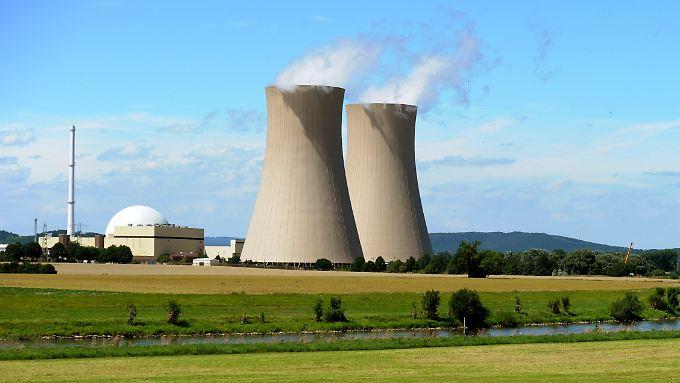 Der Atommeiler Grohnde ist seit 1984 am Netz. Er gehört zu den acht AKW, die derzeit noch in Deutschland in Betrieb sind.