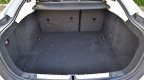 Mit 480 Liter Stauraum bietet das Gran Coupe mehr als die 3er Limousine.