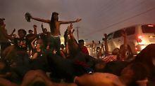 Erster Todestag von Michael Brown: In Ferguson fallen Schüsse