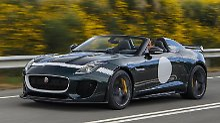 Die auf 250 Exemplare limitierte Kleinserie des Jaguar F-Type Project 7 ist bereits ausverkauft.