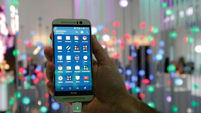 Hoffnungsträger: Das HTC One M9.