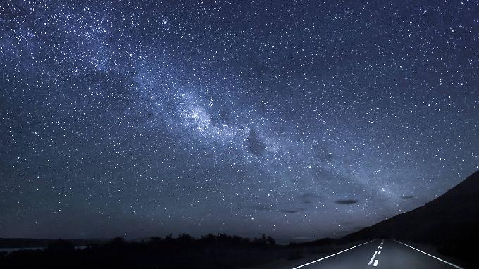 200.000 Galaxien nahmen die Forscher unter die Lupe. Hier im Bild: unsere Heimatgalaxie, die Milchstraße.